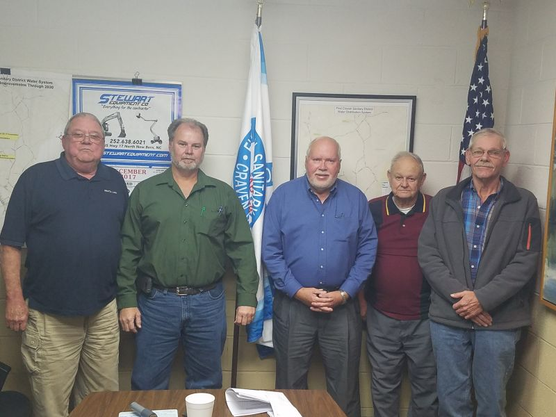 First Craven Sanitary District Board of Directors 2018